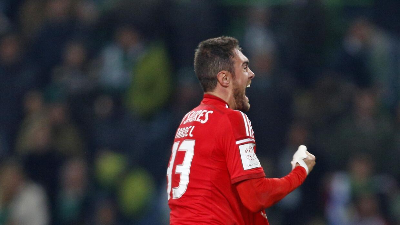 Jardel anotó el gol de la victoria del Benfica.
