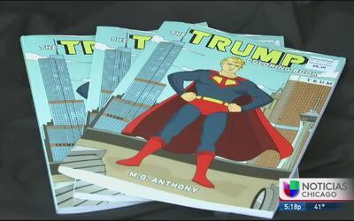 Controversia por la venta de libros para colorear de Donald Trump