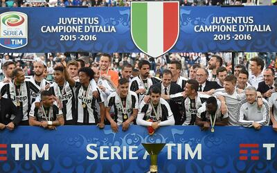 Juventus, actual campeón de la Serie A