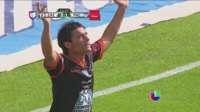 Gol de Matías Alustiza adelanta al Pachuca