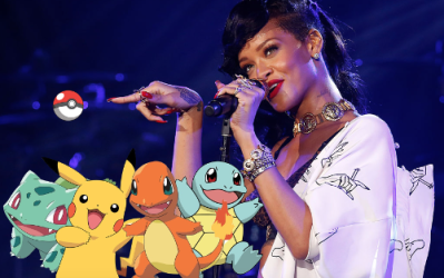 Rihanna Pokemon