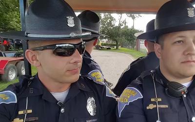 Policías estatales de Indiana causan sensación en redes sociales interpr...