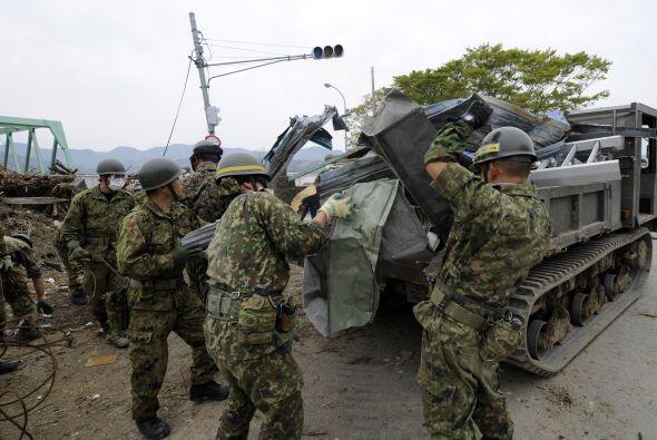 Aquel 11 de marzo, Japón se despertó entre escombros por e...