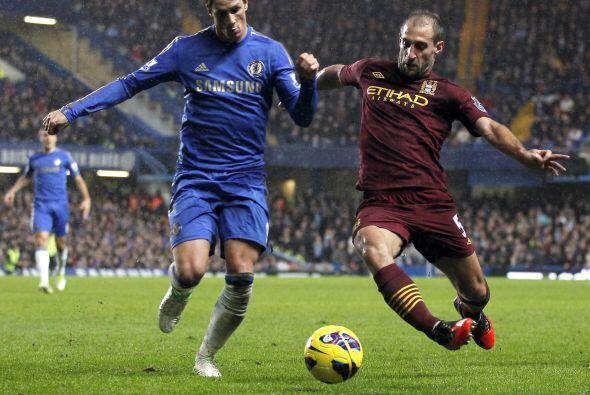 Torres estaba en la punta, pero la falta de acompañamiento le jug...