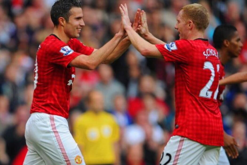 El holandés sigue siendo un jugador productivo para el Manchester United.