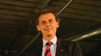 El consejero regional y municipal de Bolonia, en el norte de Italia, Mau...