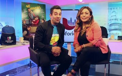 ¡Omar Chaparro platicó con Glorybella acerca de su nueva película 'No Ma...