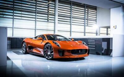 Jaguar C-X75 de James Bond Spectre