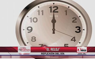 Reflexión: El reloj