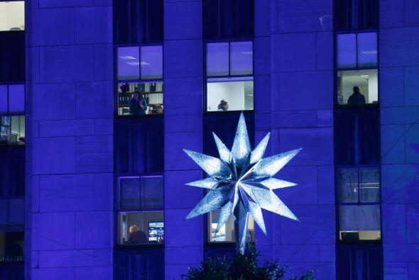 La genial estrella, que es usada desde 2004, está hecha de 25 mil...