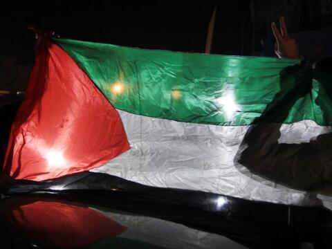 Luego de que cesaran los ataques israelíes en la franja de Gaza a...