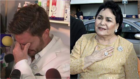 Mira cómo reaccionó Carmen Salinas cuándo le preguntamos por lo dolido q...