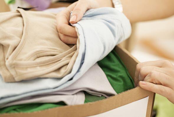 Reúne la ropa antes. Otro tip que tomamos del mismo sitio fue reu...