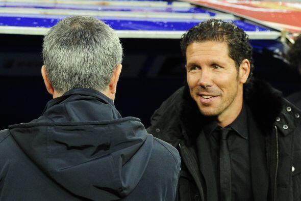 José Mourinho y Diego Simeone son dos tipos que aseguran espectáculo en...
