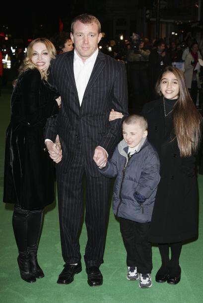 """En enero de 2007, la familia entera acudió al estreno de """"Ar..."""