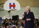 Hillary Clinton durante un evento en Denver