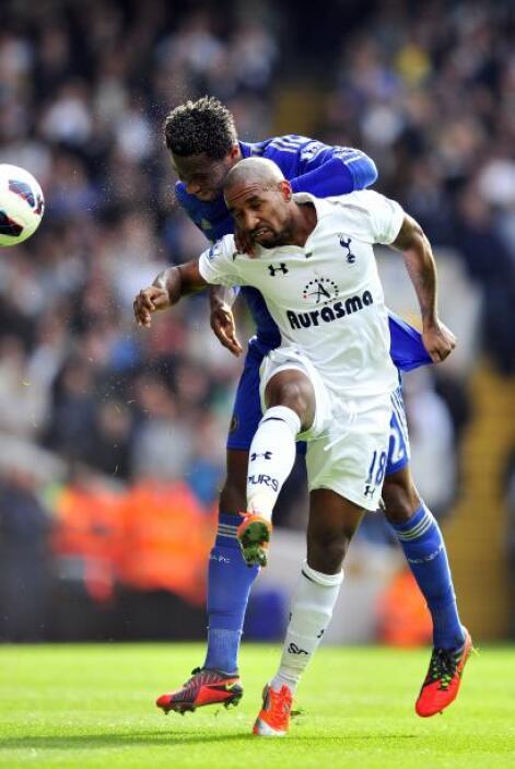 El Chelsea prsionó y ahogó al Tottenham.