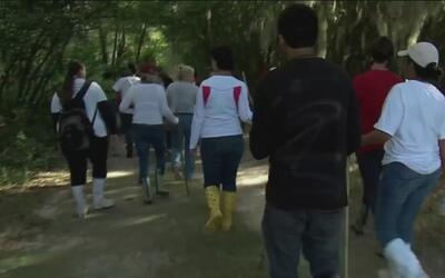 Una comunidad entera se une en busca de un joven desaparecido