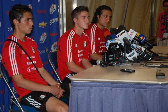 El joven Mier, futbolista del Monterrey, aceptó su falta de experiencia...