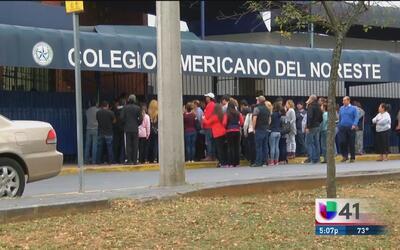 Sin detenerse investigación de balacera mortal en escuela de Monterrey