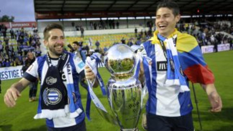 Moutinho y James, dos de los pilares del Porto para lograr el título de...