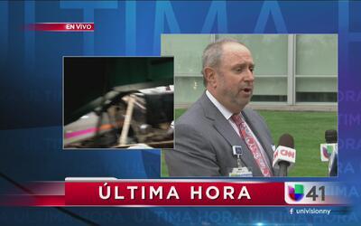 Refuerzan hospital de Nueva Jersey para atender a heridos del accidente...