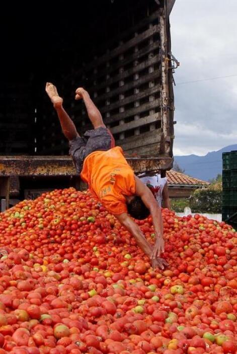 Inspirada en la mundialmente conocida tomatina de Buñol.