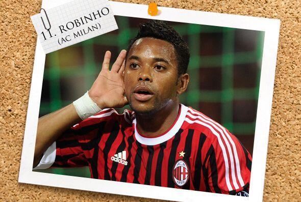 Por último, está el amazónico Robinho del Milan.