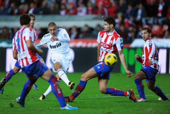 El atacante francés se esforzó por demostrar que tiene el talento necesa...