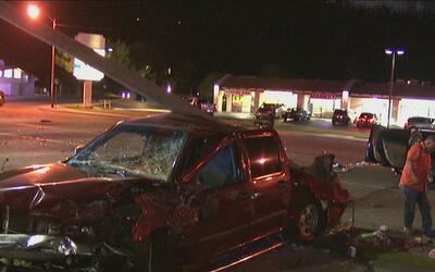 Accidente provocado por 'furia al volante' deja varios heridos en San Be...
