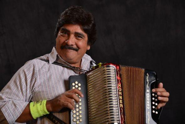 Otro rey del acordeón, pero éste en el mundo del vallenato...