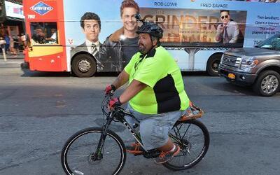 """El """"hombre gordo"""" cruzando América"""