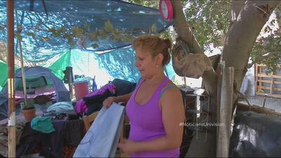 Lo que esconde la jungla de desamparados en California