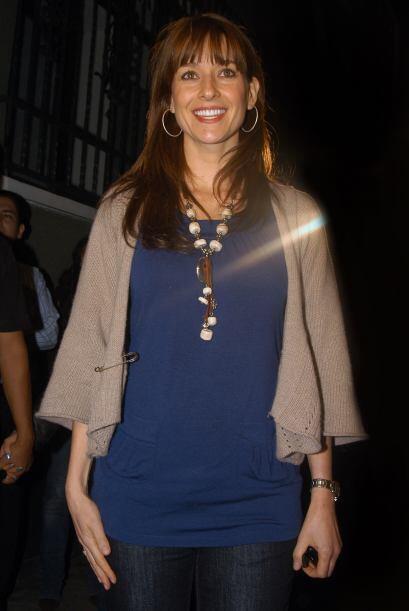 En 2008 tocó el turno a la actriz Susana González, protagonista de la te...