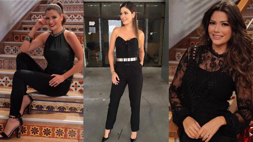 Moda en negro Ana Patricia Despierta América
