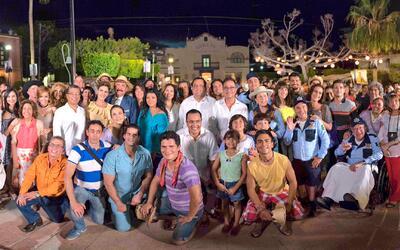 El elenco de 'El Bienamado' arrancó grabaciones en Loreto