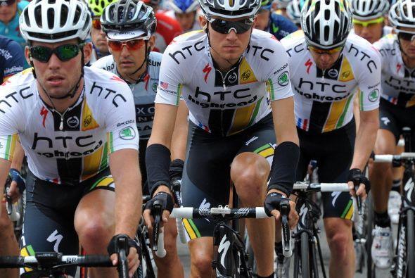 Este es el segundo triunfo de Mark Cavendish en esta competencia, pues e...