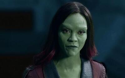 Zoe Saldaña habla de 'Guardians of the Galaxy'