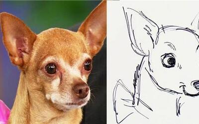 Mira la caricatura de Honey hecha por Rob Minkoff