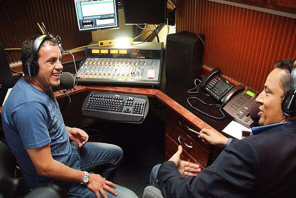 Directo al Blanco sale todos los martes por Univision Radio a las 7pm/6c.