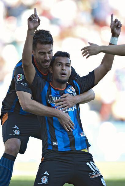 Ricardo da Silva.- Anotó los dos goles con los que Queréta...