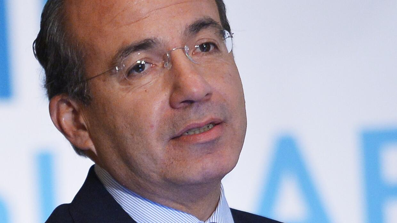 El expresidente mexicano Felipe Calderón Hinojosa.