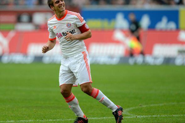 Philipp Lahm: Este bajito lateral derecho no deja de ser de lo mejor que...