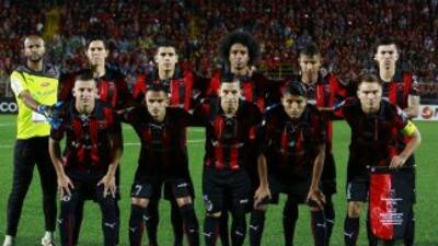 El equipo rojinegro es líder en Costa Rica