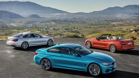 La marca alemana mostró los nuevos modelos de su Serie 4: Serie 4 Coupé,...