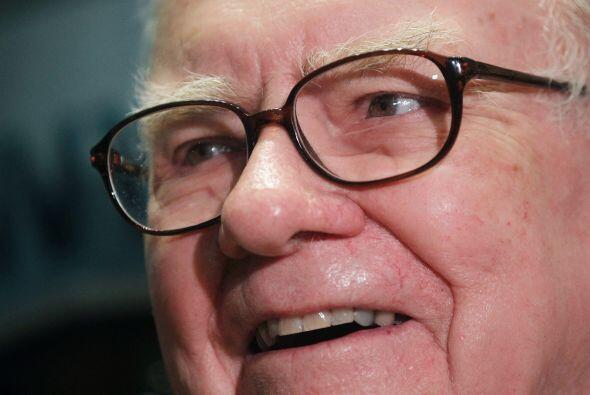 6. En el lugar 13 se encuentra el CEO de Berkshire Hathaway, Warren Buff...
