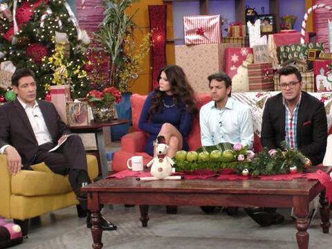 La mañana comenzó en Despierta América con la visita de Eugenio Derbez p...