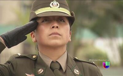 Una peruana recibe la espada de honor del Ejército