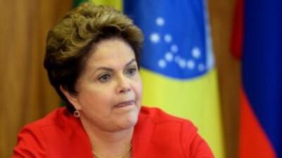 La noticia surge en un mal momento para la presidenta Dilma Rousseff, qu...