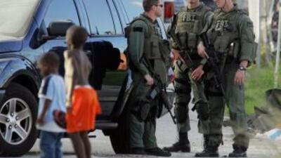 Personal del FBI de Estados Unidos llegó a la isla para realizar los ope...